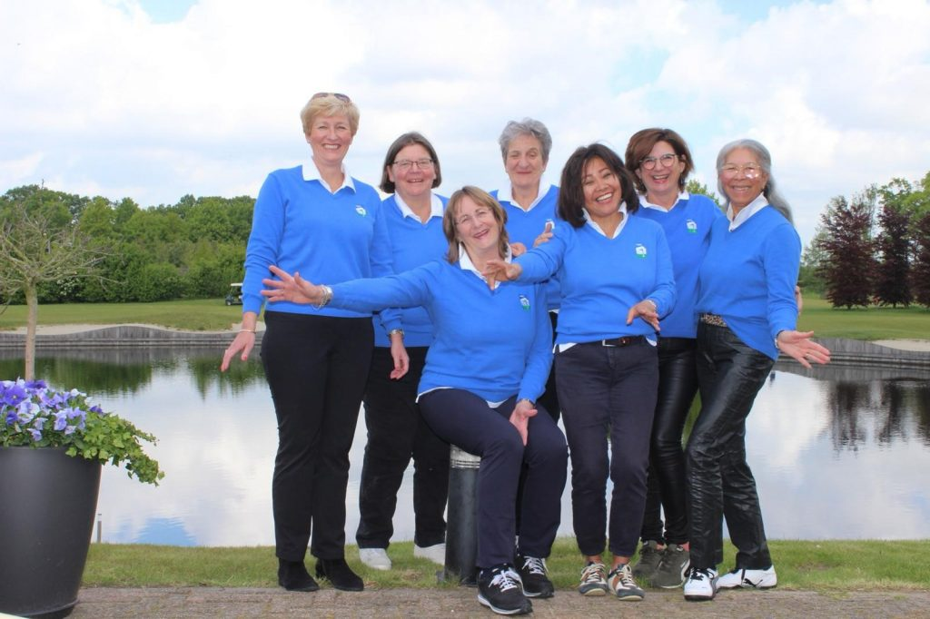 2019 - Senioren Dames 1 - 18 holes - 1e klasse