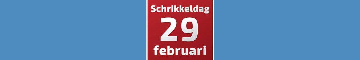 Doe mee met Schrikkeldag/Scricken Wedstrijd op 29 Februari